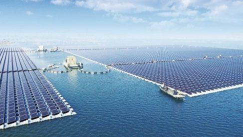 Fotovoltaico galleggiante, un impianto record sui resti del carbone